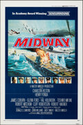 """Movie Posters:War, Midway (Universal, 1976). Folded, Very Fine. One Sheet (27"""" X 41"""") Style B. War.. ..."""