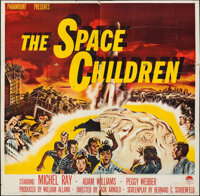 """The Space Children (Paramount, 1958). Folded, Very Good. Six Sheet (79"""" X 79""""). Science Fiction"""