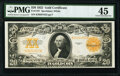 Fr. 1187 $20 1922 Gold Certificate PMG Choice Extremely Fine 45