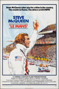 """Movie Posters:Sports, Le Mans (National General, 1971). Folded, Very Fine. One Sheet (27"""" X 41"""") Tom Jung Artwork. Sports.. ..."""