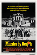 """Movie Posters:Comedy, Murder by Death (Columbia, 1976). Folded, Fine/Very Fine. One Sheet (27"""" X 41"""") Charles Addams Artwork. Comedy.. ..."""