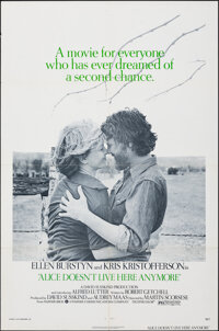 "Alice Doesn't Live Here Anymore (Warner Bros., 1974). Folded, Very Fine-. One Sheet (27"" X 41""). Drama"