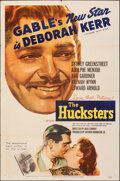 """Movie Posters:Drama, The Hucksters (MGM, 1947). Folded, Very Fine-. One Sheet (27"""" X 41""""). Drama.. ..."""
