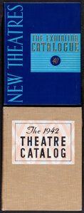 Movie Posters:Miscellaneous, Theatre Catalog Lot (Jay Emanuel Publications, 1940/1942). Very Fine. Limited Edition Hand Numbered Hardbound Exhibitor Thea... (Total: 2 Items)