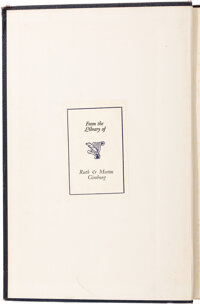 Ruth Bader Ginsburg's Personal Heavily Annotated Columbia Law School Book, The French Legal System - An Introduction to...
