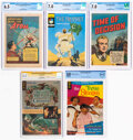 Golden Age (1938-1955):Miscellaneous, Comic Books - Golden to Modern Age Certified Comics Group of 5 (Various Publishers, 1948-2007).... (Total: 5 )