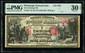 National Bank Notes:Pennsylvania, Pittsburgh, PA - $5 1875 Fr. 401 The Exchange N...