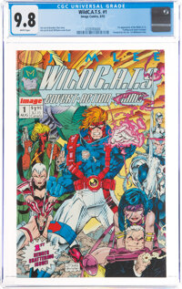 WildC.A.T.S: Covert Action Teams #1 (Image, 1992) CGC NM/MT 9.8 White pages