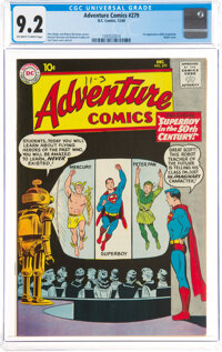 Adventure Comics #279 (DC, 1960) CGC NM- 9.2 Off-white to white pages