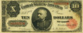 Large Size:Treasury Notes, Fr. 368 $10 1890 Treasury Note PMG Very Fine 30.. ...
