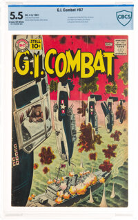 G.I. Combat #87 (DC, 1961) CBCS FN- 5.5 Cream to off-white pages
