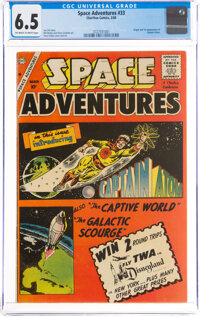 Space Adventures #33 (Charlton, 1960) CGC FN+ 6.5 Off-white to white pages