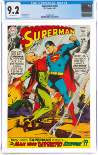 Superman #205 (DC, 1968) CGC NM- 9.2 Off-white pages
