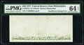 Insufficient Inking of Back Printing Error Fr. 2072-C $20 1977 Federal Reserve Note. PMG Choice Uncirculated 64 EPQ