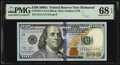 Small Size:Federal Reserve Notes, Near Solid Serial Number 11111112 Fr. 2187-E $100 2009A Federal Reserve Note. PMG Superb Gem Unc 68 EPQ.. ...