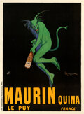 Movie Posters:Advertising, Maurin Quina (1906). Very Fine- on Linen. French A...