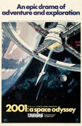 Movie Posters:Science Fiction, 2001: A Space Odyssey (MGM, 1968). Fine on Linen. ...