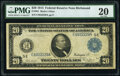 Large Size:Federal Reserve Notes, Fr. 981 $20 1914 Federal Reserve Note PMG Very Fine 20.. ...