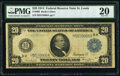 Large Size:Federal Reserve Notes, Fr. 993 $20 1914 Federal Reserve Note PMG Very Fine 20.. ...