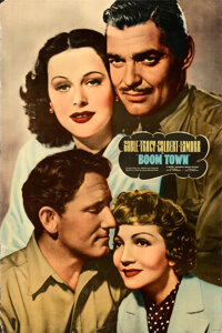 """Boom Town (MGM, 1940). Rolled, Fine/Very Fine. Special Full-Bleed One Sheet (27.75"""" X 42"""")"""