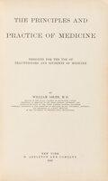 Books:Medicine, William Osler. The Principles and Practice of Medicine. Designed for the use of practitioners and students of medi...