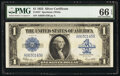 Large Size:Silver Certificates, Fr. 237 $1 1923 Silver Certificate PMG Gem Uncirculated 66 EPQ.. ...