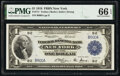 Fr. 711 $1 1918 Federal Reserve Bank Note PMG Gem Uncirculated 66 EPQ