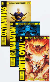 Before Watchmen Complete Series Group of 37 (DC, 2012-13) Condition: Average NM-.... (Total: 37 Comic Books)