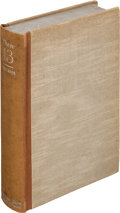 Books:Literature 1900-up, William Faulkner. These 13. New York: Cape and Smith, [1931]. First edition, one of 299 copies signed by Faulkner ...