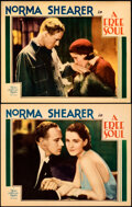 """Movie Posters:Drama, A Free Soul (MGM, 1931). Very Fine. Lobby Cards (2) (11"""" X 14"""").. ... (Total: 2 Items)"""