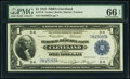 Fr. 718 $1 1918 Federal Reserve Bank Note PMG Gem Uncirculated 66 EPQ