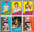 Basketball Cards:Lots, 1972-91 Topps & Hoops Basketball Collection (30)....