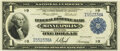 Fr. 734 $1 1918 Federal Reserve Bank Note PMG Choice Uncirculated 64 EPQ