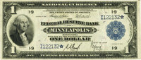 Fr. 735* $1 1918 Federal Reserve Bank Note PMG Extremely Fine 40