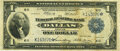 Fr. 741* $1 1918 Federal Reserve Bank Note PMG Very Fine 20
