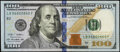 Small Size:Federal Reserve Notes, Radar Serial Number 06800860 Fr. 2189-B $100 2009A Federal Reserve Note. Very Fine.. ...