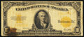 Fr. 1173 $10 1922 Gold Certificate Very Good-Fine