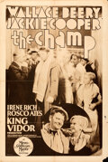 """Movie Posters:Drama, The Champ (MGM, 1931). Folded, Fine/Very Fine. Rotogravure One Sheet (28"""" X 42"""").. ..."""