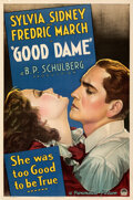 """Movie Posters:Drama, Good Dame (Paramount, 1934). Very Fine on Linen. One Sheet (27"""" X 41"""").. ..."""
