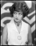 Movie/TV Memorabilia, Collection of (30) original camera negatives of early Hollywood female stars, including Clara Bow and Anna May Wong. ...