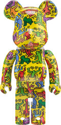 Collectible, BE@RBRICK X Keith Haring Estate. Keith Haring #5 1000%, 2020. Painted cast resin. 28 x 14 x 9 inches (71.1 x 35.6 x 22.9...