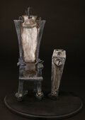"""Movie/TV Memorabilia, """"Jack Skellington's"""" electric chair from The Nightmare Before Christmas...."""