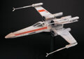 Movie/TV Memorabilia, Original screen-used X-Wing Fighter filming miniature from Star Wars: Episode IV – A New Hope....