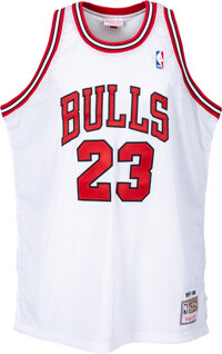"""2009 Michel Jordan Signed UDA Hall of Fame """"Class of 2009"""" Limited Edition Jersey (22/23)"""