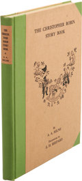 Books:Signed Editions, A. A. Milne Limited Signed: The Christopher Robin StoryBook. (New York: E. P. Dutton & Company, 1929), number 14of 350...
