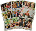 "Music Memorabilia:Posters, Elvis Presley ""Frankie and Johnny"" Lobby Card Set. Set of eightvintage color 14"" x 11"" lobby cards for the 1966 musical com..."