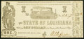 Obsoletes By State:Louisiana, Shreveport, LA- State of Louisiana $1 Mar. 1, 1864 Very Fine-Extremely Fine.. ...