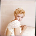 """Movie/TV Memorabilia, Color camera transparency of Marilyn Monroe from """"Graduation"""" sitting for The Prince and the Showgirl by Milton Greene. ..."""