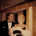 Movie/TV Memorabilia, Collection of (99) black-and-white and color camera negatives and transparencies of Marilyn Monroe with Marlon Brando by Milto...
