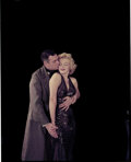 Movie/TV Memorabilia, Collection of (16) color camera transparencies of Marilyn Monroe with Laurence Olivier from The Prince and the Showgirl by Mil...
